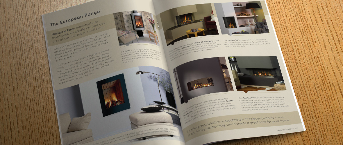 Multiglow Interior Brochure Design