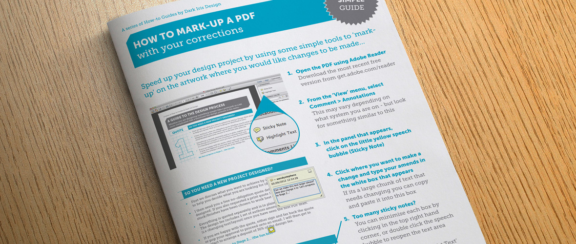 How to Markup a PDF with amends