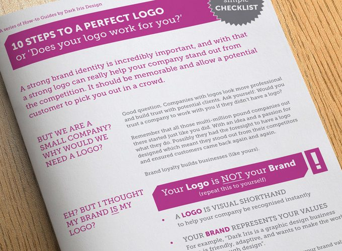 10 Steps To A Perfect Logo Design