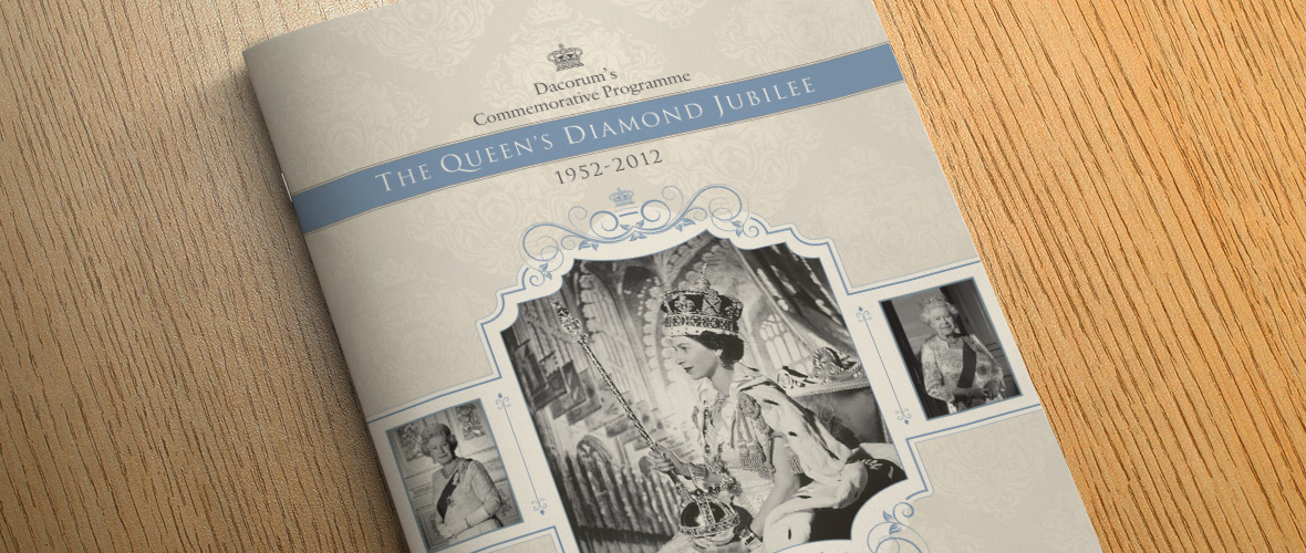 Diamond Jubilee Programme Design