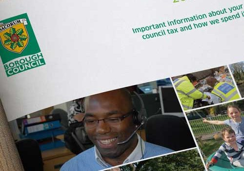 Council Tax Annual Report Design