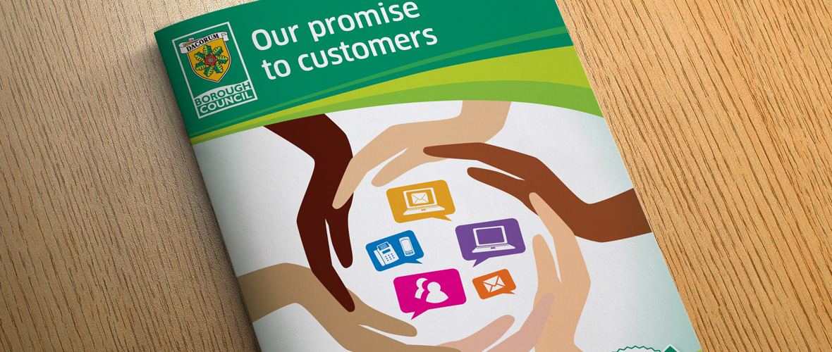 Dacorum Customer Booklet Design