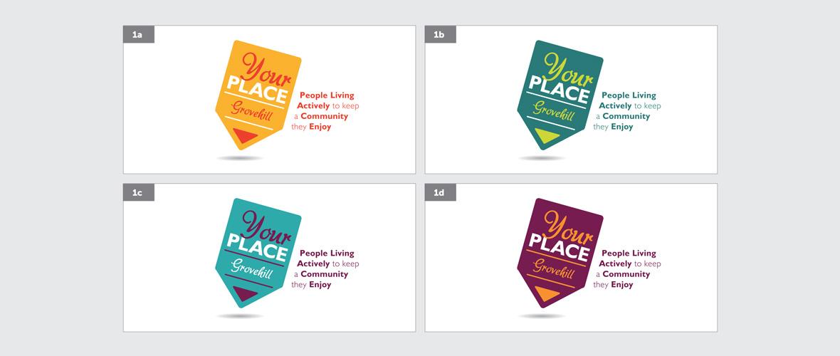 Your Place Community Logo Design - option 4