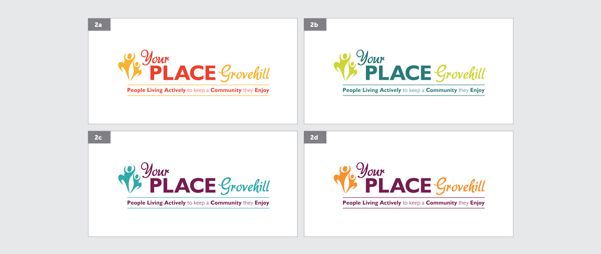 Your Place Community Logo Design - option 3
