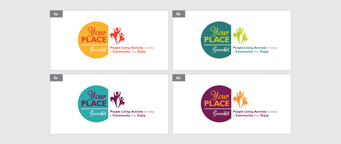 Your Place Community Logo Design - option 2