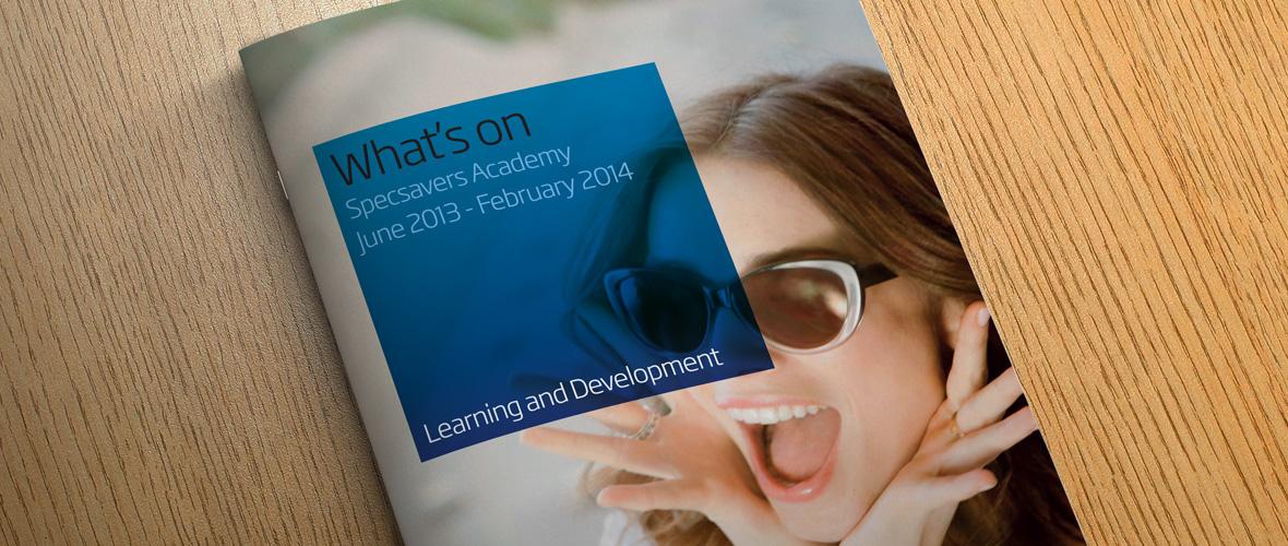 Academy Brochure Design