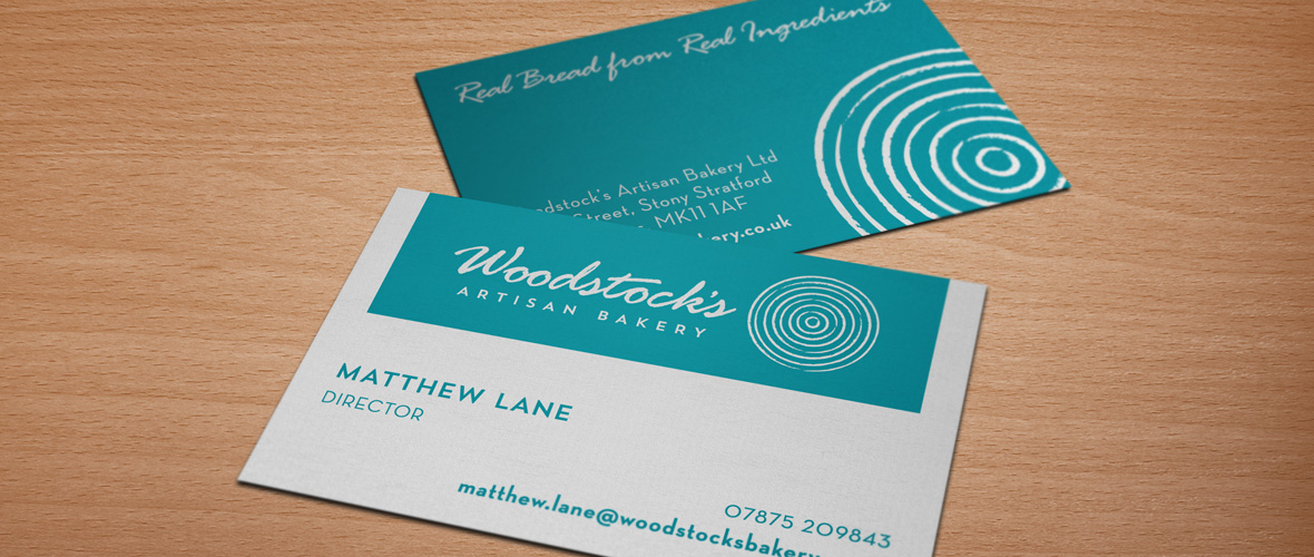 Artisan Bakery Branding Business Card