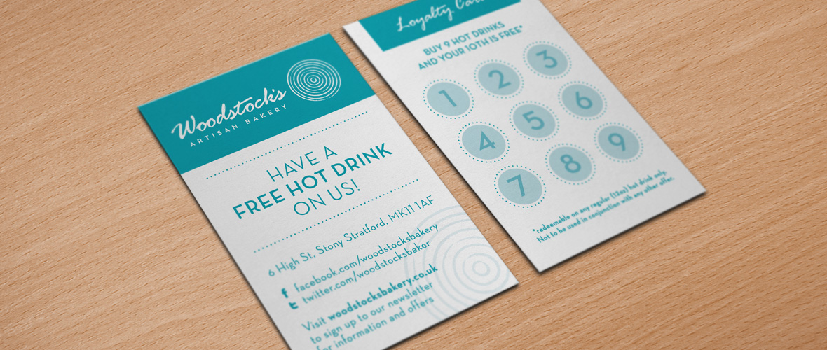 Artisan Bakery Branding Loyalty Card