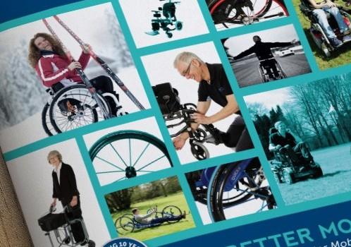 Better Mobility Wheelchair Brochure Design