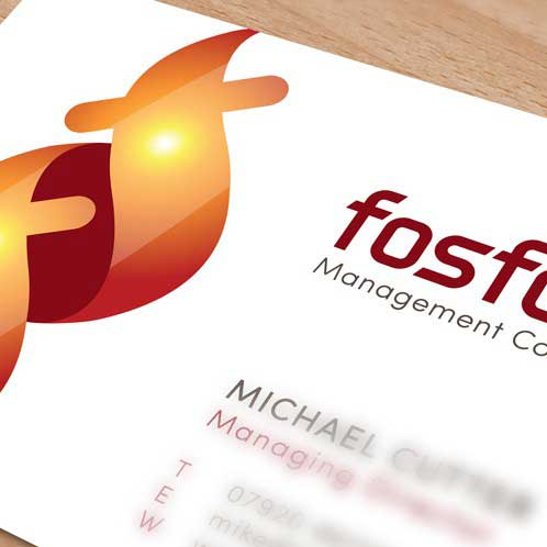 Fosforo Management Consultancy Logo Design