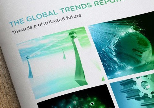 Global Trends Report Brochure Design