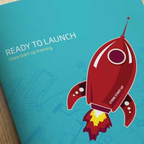 Specsavers Training Brochure Design