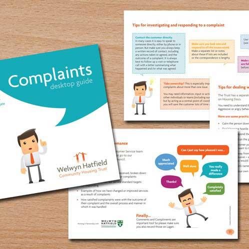 Complaints Booklet Design
