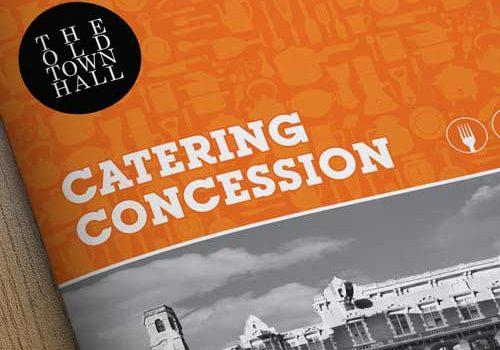 Catering Brochure Design