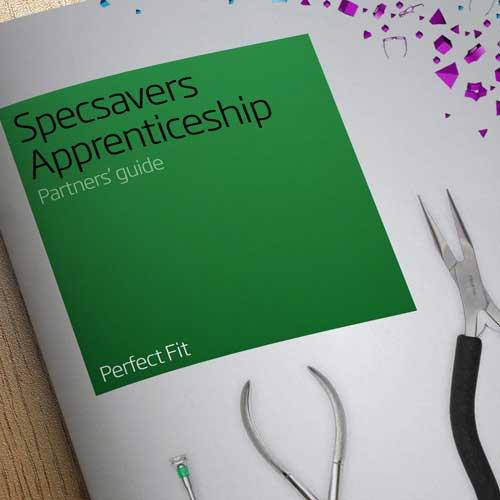 Specsavers Apprenticeship Booklet Design