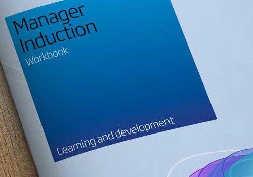Induction Booklet Design