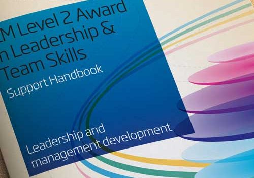 Specsavers Leadership Training Handbook Design
