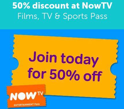 Now TV Discount Code