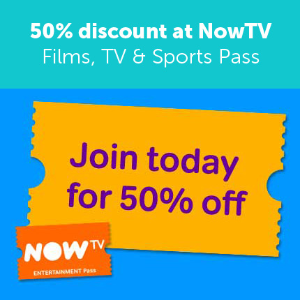 Now TV: Review And 50% Off Discount Code